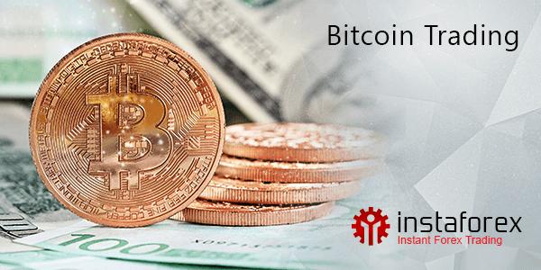 Deposit bitcoin, trading bitcoin dengan InstaForex!