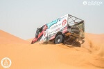 2d desert test session in Africa
