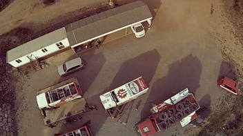 Uji truk MAN Dakar yang sebenarnya