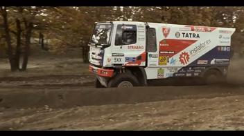 Sesi Tes Tatra Buggyra / DAKAR 2017