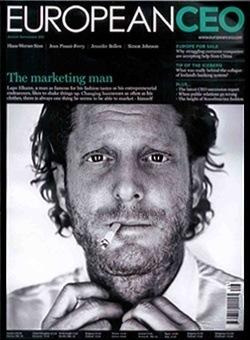 Majalah «European CEO» (Agustus-September, 2011)