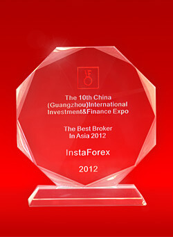 Broker Terbaik di Asia tahun 2012 pada 10th China Guangzhou International Investment and Finance Expo