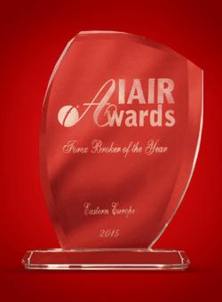 Broker Forex Terbaik di Eropa Timur tahun 2015 dari IAIR Awards