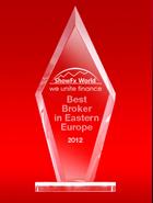 Broker Terbaik di Eropa Timur tahun 2012 dari ShowFx World