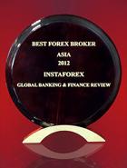 Broker Forex Terbaik di Asia tahun 2012 dari Global Banking & Finance Review