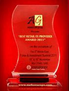 Forex & Investment Summit 2011 - Penghargaan Penyedia FX Ritel Terbaik tahun 2011