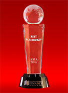 Broker ECN Terbaik di Asia dari International Finance Awards