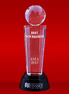 Broker ECN Terbaik tahun 2015 dari International Finance Magazine