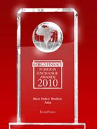 World Finance Awards 2010 – Broker Terbaik di Asia