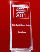 European CEO Awards 2011 – Broker Ritel Terbaik