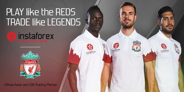 Liverpool Football Club menjadi partner InstaForex